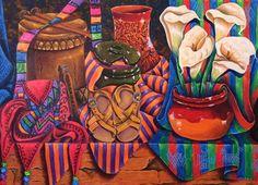 Tambor y mas. Pedro Arnoldo cruz sunu,arte de Guatemala.