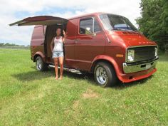 Dodge Good Times Van   1977 Dodge Good Times Van