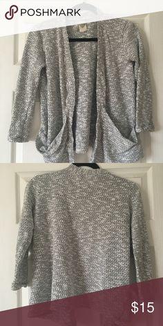 Zara cardigan Zara cardigan black and gray. Size Small. Zara Sweaters Cardigans