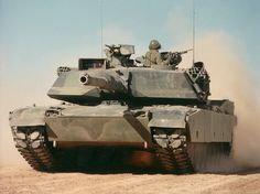 M1 Abrams main battle tank