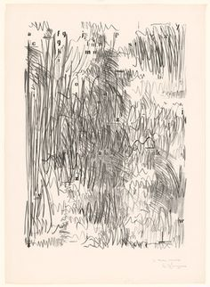Jasper Johns. Alphabets. 1962