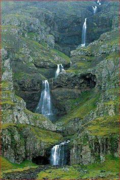 Mahon Falls, The Comeragh Mountains in County Waterford, Ireland.
