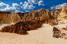 Stunning landscape of Madagascar - The canyon of Ankarafantsika is located in the South-west of Madagascar.