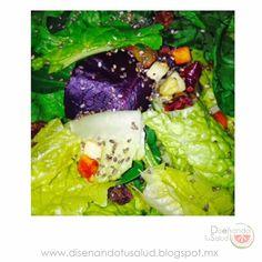 Diseñando tu Salud : Agrega semillas de CHIA a tu ensalada