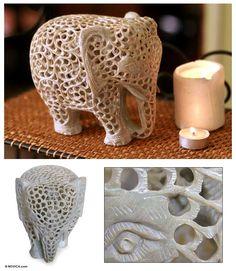 Soapstone sculpture - Mother of Triplets | humpf... pedra sabão... pode isso arnaldo??? *.*