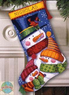 Dimensions - Freezin' Season Stocking - Cross Stitch World