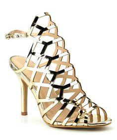 Gold Lyric Sandal