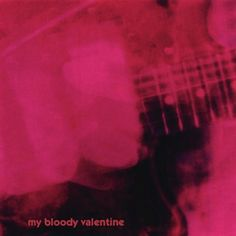 MY BLOODY VALENTINE, Album: LOVELESS, 1991. An album that left critics and musicians stunned in the 1990s, and rightly so, for this hazy, wall-of-sound shoegazing spectacular is sort of like its own album cover, distinct and indistinct. More rewarding with repeated hearings. http://pinterest.com/earthgroove2/pins/