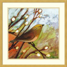 Framed Art Print 'Longing for You Part I' by Jennifer Lommers 21 x 21-inch