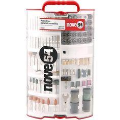 Kit para Mini Retifica DREMEL 257 peças ECOFFER