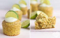 Herbstliche Zucchini-Möhren-Muffins mit erfrischender Limettencreme