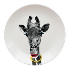 Assiette Wild Dining Girafe