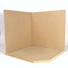 BBM074CO - Large Open Corner Room Box Kit from Bromley Craft Products Ltd.