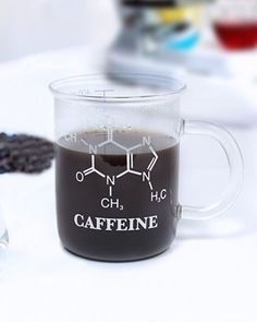 Chemistry Mug is scientifically proven to delight anyone who understands chemistry! This clear coffee mug gift is designed to look like a laboratory beaker.