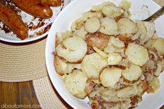 Traditional German Potato Salad using apple cider @Heinz Vinegar (sponsored) #HeinzVinegar