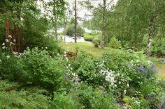 Ulf Nordfjell's summer garden in Sweden