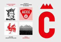 Charleroi Corporate Design | Design Tagebuch