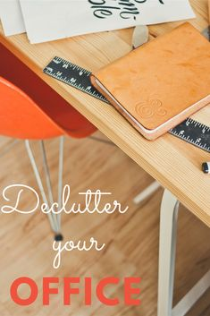 Learn the simple steps to declutter your paper and documents with ease! Declutter made easy and fun with Konmari method and also my twist on things. #declutter #konmarimethod #declutterpaper