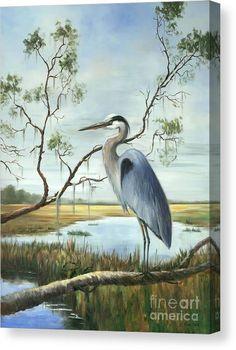 Watercolor Projects, Watercolor Artwork, Pelican Art, Louisiana Art, Eagle Art, Tropical Art, Blue Heron, Bird Pictures, Jolie Photo