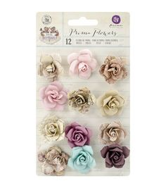 Prima Marketing Butterfly Bulbe Mulberry Paper Flowers