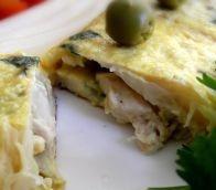 Omelete de frango e espargos brancos - SAPO Sabores