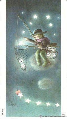 Detalle de la imagen de -postal de ferrandiz (Postales - Navidad)
