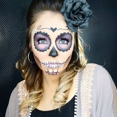 Sugar Skull MakeUp by Instagramer ericagamby