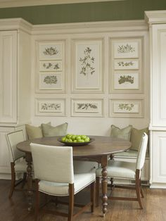 Astonishing Artwork Wall Decors Also Triple Armless Dining Chairs Feat Dining Banquette As Inspiring Classic Interior Decors Inspirations