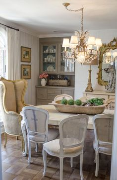 Lasting french country dining room furniture & decor ideas (55)