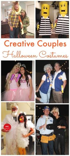 Creative Couples Halloween Costume Ideas