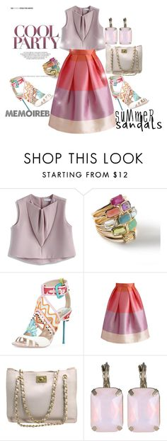 """""""MY SUMMER MY WAY....."""" by memoireb ❤ liked on Polyvore featuring Chicwish, Ippolita, Chanel and summersandals"""