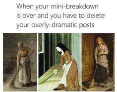 "19 Classical Art Memes That Are Way Better Than Walking Through A Museum - Funny memes that ""GET IT"" and want you to too. Get the latest funniest memes and keep up what is going on in the meme-o-sphere. Comebacks Memes, Dankest Memes, Cat Memes, Fuuny Memes, You Funny, Funny Jokes, Funniest Memes, Funny Stuff, Funny Fails"
