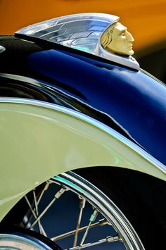 Indian Motorcycle Fender Emblem Print featuring the photograph Indian Motorcycle…