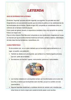 Características de una Leyenda..