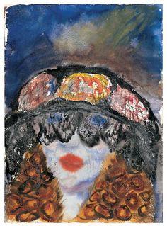 Otto Dix (1891–1969) - Woman's Head in the evening, 1923 Bucerius Kunst Forum, Hamburg, Germany
