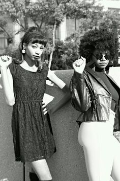 No matter the hairstyle as long as we are on the same page...Black power