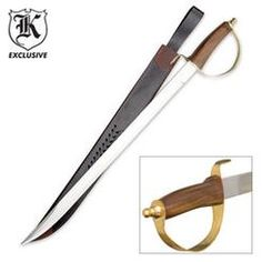 """""""Classic Cavalry Saber Sword"""" 11/21/15 Basic good sword like this, but turns out I'm very picky about swords"""