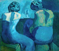 Pablo Picasso (Spanish, 1881-1972) - Les Pierreuses - 1902