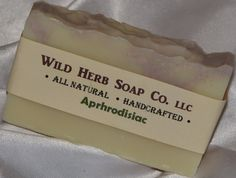 Fantastic Shampoo Bar.  Smells incredible!!  All Natural APHRODISIAC Soap by WILD HERB  Latest by WildHerb, $4.00