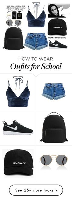 """This world is so big, yet my thoughts are still about you..."" by athenava on Polyvore featuring NIKE, Prada, MANGO, no!no!, Casetify, Frends and Chanel"