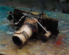 A home-made camera by Miroslav Tichy