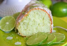 This delicious and easy lime cake can be whipped up in no time. A fantastic spring or summer dessert that everyone will love. Lime Bundt Cake Recipe, Key Lime Pound Cake, Key Lime Cake, Sour Cream Pound Cake, Keylime Pie Recipe, Lime Desserts, Fun Desserts, Awesome Desserts