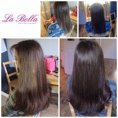 "3/4 head 16"" European La Bella Hand made nano tip hair extensions £279 💁🏼 #hair #hairbloggers #hairextensions #hairextensionskent #hairextensionsessex #nanoringsuk #nanoringextensionskent #hairextensionssurrey #hairextensionslondon  #longhairdontcare #brunette #brunettehair #hairblog #hairextensions #nofilter"