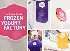 The Original Swedish Frozen Yogurt Factory on Behance