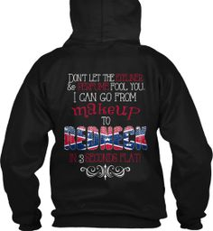 MAKEUP TO REDNECK - Click on the link to order. http://teespring.com/makeuptoredneck  Made by Barefoot Blue Jean Princess