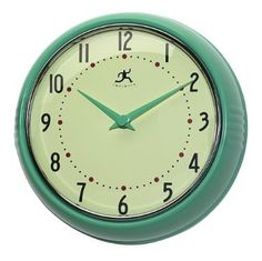 SKOVEL Wall clock green Tes Side tables and Change 3