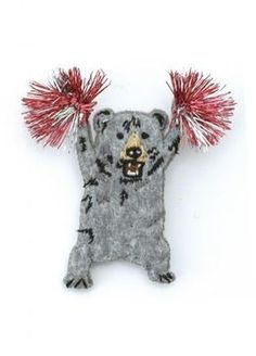 Cheer leader bear pin / ShopStyle: H.P.F, MALL roomsSHOP