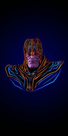 Marvel Neon: wallpapers psicodelicos para tus dispositivos móviles - Best of Wallpapers for Andriod and ios Thanos Marvel, Marvel Comics, Marvel Fan, Marvel Heroes, Marvel Avengers, Wallpapers Geek, Univers Marvel, Neon Wallpaper, Avengers Wallpaper