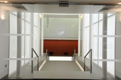 Light + Design - 50 George Street. Reception Foyer Entrance