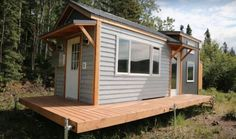 Ana White has finished her tiny house and has posted free plans you can use to build this tiny house. You can watch the entire build process on her YouTube channel, and get plans and design ideas from
